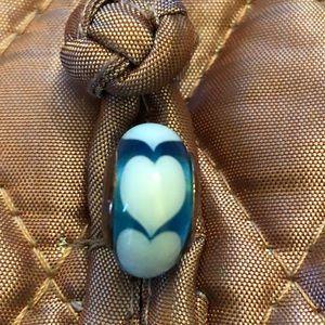 Retired Pandora glass charm